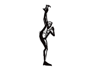 Gesture & figure drawing   09 martial arts graphic quick sketch kung fu bold sketching stylized digital art drawing illustration minimal black and white visual identity brand identity life drawing nudesketch croquis sketch figure drawing gesture drawing