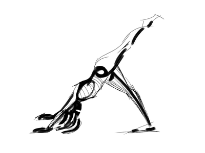 Gesture & figure drawing | 15 dynamic poses sketching yoga drawing yoga pose yoga asana life drawing abstract graphic drawing human figure quick sketch stylized branding illustration gesture drawing figure drawing minimal black and white modern