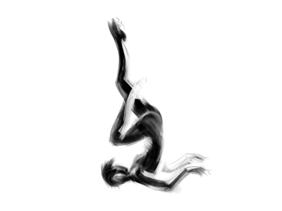Gesture & figure drawing | 21 figure study illustration drawing visual identity minimal silhoutte abstract modern dynamic nude graphical human figure stylized body language digital art charcoal black and white sketching figuredrawing figure drawing