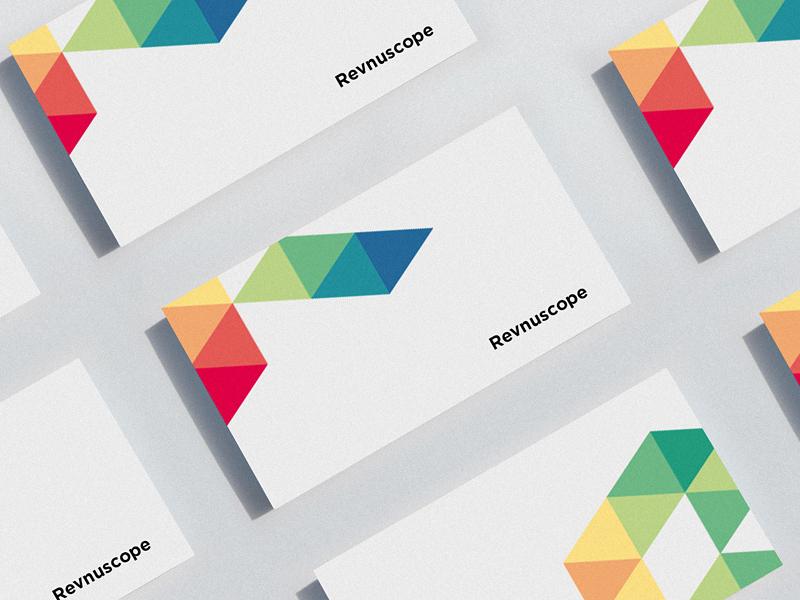 Revnuscope   revenue analytics tool   stationery concept by Kim
