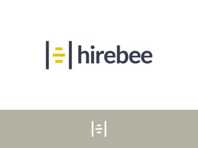 HireBee | logo design proposal | Pt. 2