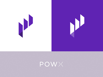 POW X | data analytics | logo design