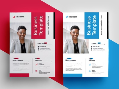 Corporate Business Flyers advertising business flyer print ready agency flyer clean postcard minimal modern creative market pixelpick poster banner a4 flyer flyer idea flyer template corporate design corporate flyer flyer