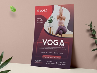 Yoga Flyer advertising corporate flyer print ready creativemarket pixelpick clean business corporate flyer template flyer yoga poster yoga banner yoga idea yoga template yoga design yoga flyer template yoga flyer yoga