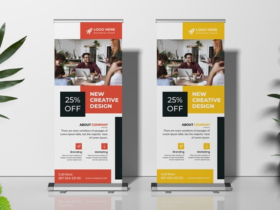 Corporate Roll Up Banner design idea redesign flyer banners corporate flyer ad ads banner ads banner roll up banner poster corporate rollup business rollup rollup design rollup banner rollup roll