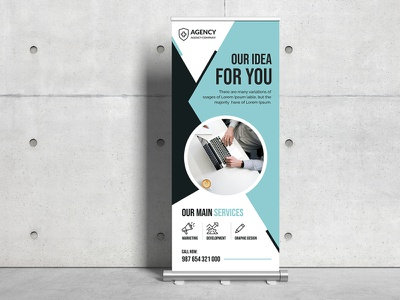 Multipurpose Roll Up Banner print ready pixelpick sale ads banner design psd redesign agency rollup business rollup corporate rollup ads flyer posters rollup template rollup design poster mulitpurpose banner rollup banner rollup