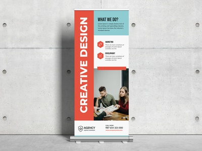 Corporate Roll Up Banner banner stand 30x70 corporate rollup billboard stand banner clean agency roll up banner creative roll up banner marketing creative corporate banners advertisement ad rollup corporate roll up business roll up template roll up banner roll up