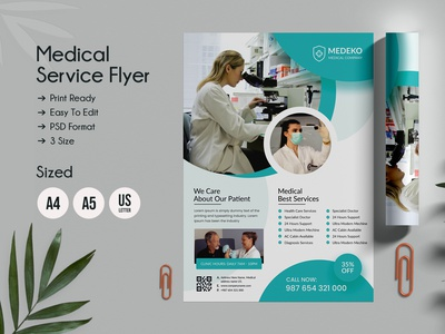 Health & Medical Doctors Flyer multipurpose surgery nurse template medical flyer medical hospital flyer hospital health care health flyer doctor flyer doctor dental creative corporate clean business advertisement ad