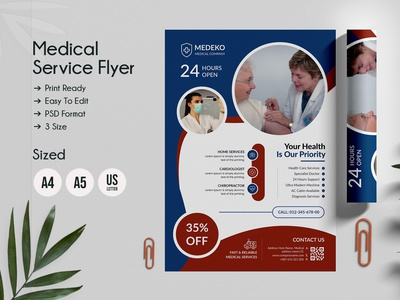 Doctor & Medical Flyers Template flyer adstract flyer print ready multipurpose surgery nurse template medical magazine doctor flyer design medical flyer template promotion design promotion patient medicine family doctor hospital flyer flyer template medical flyer doctor flyer