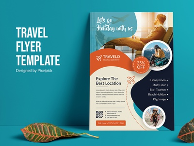 Travel Flyer Template tour design tour flyer tour colorfull clean business corporate print ready idea creative market travel image travel banner travel poster travel design flyer template travel flyer