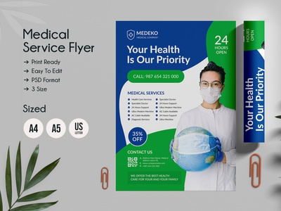 Health & Medical Doctors Flyers clean medical poster medical banner new flyer us flyer a5 flyer a4 flyer print design modern print template flyer design ideas creative market corona dental flyer hospital flyer flyer design flyer template services flyer medical services medical flyer