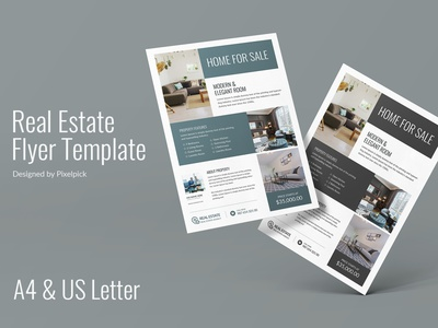 Real Estate Flyer Template print ready creative corporate business real estate agent agent home for sale house sale home sale flyer idea flyer design flyer template flyer postcard real estate real estate poster banner real estate design real esate real estate flyer