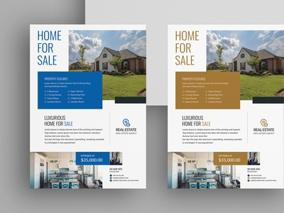 Real Estate Flyer leaflet pamphlet property sale property home sale home realtor house open real estate poster real estate banner poster banner ads ad estate flyer template real estate flyer real-estate real estate