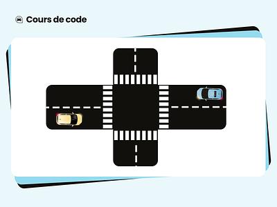 Driving school - Lesson 🚦🚙 productdesign illustration lepermislibre motiondesign motio motion graphics graphic design animation