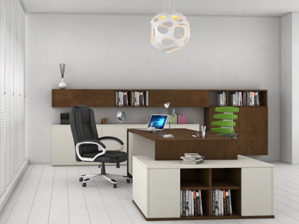 Office Interior | 3ds Max | Vray & Photoshop by Faisal Khan
