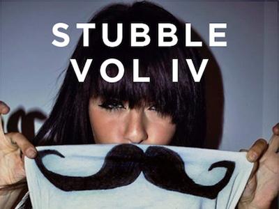 Mixtape Artwork: Stubble vol. IV mixtape cover artwork stubble mustache photo