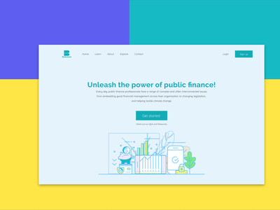 Investment website-Financial Insurance website best website design investment fintech adobexd web design landingpage website design design agency website landingpagedesign
