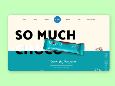 Confectionary website Design. Nomo bakery web design instagram hastags website design
