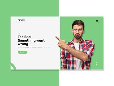 Emotive 404 page uidesign website design empty screen emptystate page not found 404 page not found 404 error page 404page 404 error