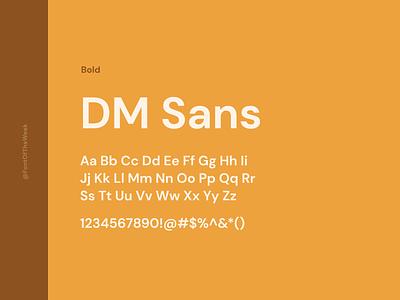 DM Sans interface user experience user interface ux ui app design web design graphic design design inspiration design type inspiration free typeface free fonts google fonts typography typeface font font inspiration font of the week fotw