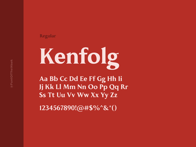Kenfolg interface user experience user interface ux ui app design web design graphic design design inspiration design type inspiration free typeface free fonts google fonts typography typeface font font inspiration font of the week fotw
