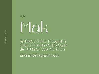 Mak interface user experience user interface ux ui app design web design graphic design design inspiration design type inspiration free typeface free fonts google fonts typography typeface font font inspiration font of the week fotw