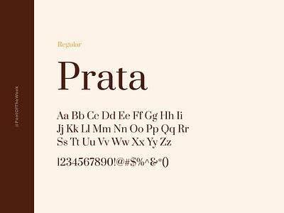 Prata interface user experience user interface ux ui app design web design graphic design design inspiration design type inspiration free typeface free fonts google fonts typography typeface font font inspiration font of the week fotw