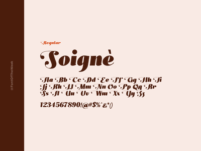 Soigne interface user experience user interface ux ui app design web design graphic design design inspiration design type inspiration free typeface free fonts google fonts typography typeface font font inspiration font of the week fotw