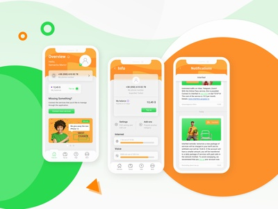 Interfeel – Mobile сommunication application mobile app design mobile app mobile веб-сайт веб-дизайн website webdesign uidesign design branding