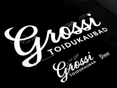 Grossi - Grocery Shop Rebranding