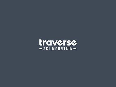 Traverse logo graphic design design branding typography logodesign