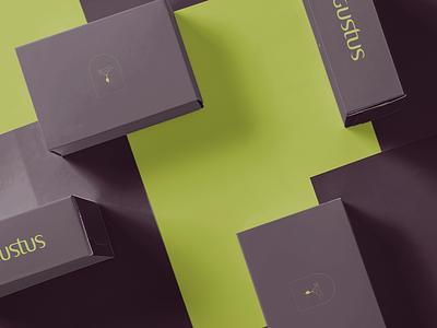 Gustus vector logo design branding typography logodesign graphic design