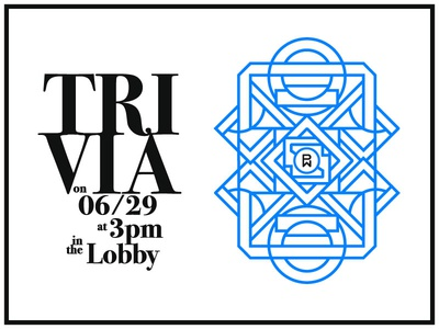Trivia Poster snacks and beer smarts brain lobby phunware poster trivia