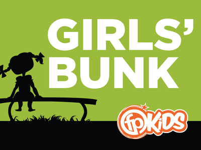 Girls Bunk Camp Sign