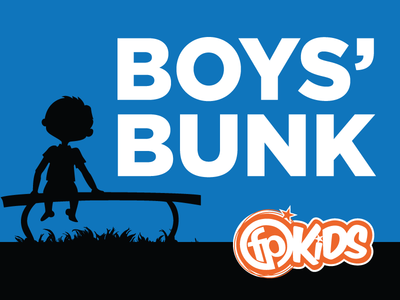 Boys Bunk Camp Sign