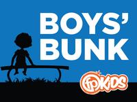 Boys Bunk Camp Sign
