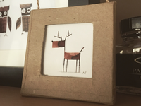 Calligraphy Reindeer