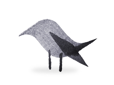 Calligraphy Bird ink pen nature animal design drawing bird minimalism