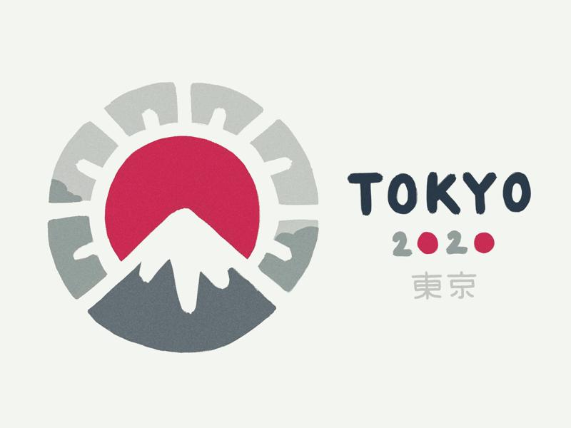 Tokyo 2020 2020 tokyo olympics design logo japan