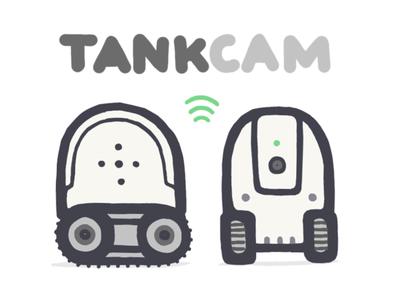 TankCam cat spy product design cam tech