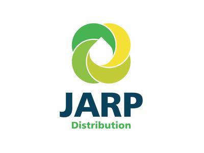 JARP Distribution whitespace negative space logo negative-space negativespace mistershot vector branding twirl design oil drop logomark negative space icon symbol mark logo