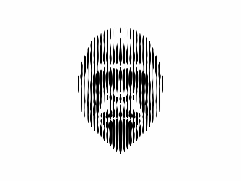 Gorilla Lines logo logomark illustration linear optical illusion visual effect gorillaz gorilla logo ape icon symbol mark design illusionist illusion lineart animal animal logo lines gorilla