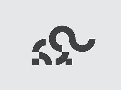 Elephant elephants shapes minimalist design minimalist logo minimalism minimalist logomark design minimal icon mistershot symbol mark logo animal logo animal elephant logo elephant