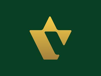 Letter C Crown Logo monogram logo typography type corona king c monogram letter c c golden gold crown crown logo minimal logomark monogram symbol mistershot mark logo