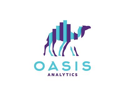 Oasis 2 analytics oasis mark logo desert camel