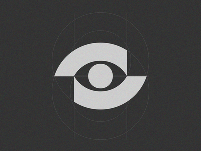 Eye 01 grid design grid logo grid construction minimal mistershot modernism eye logo gridding grid eyes mark logo symbol eye