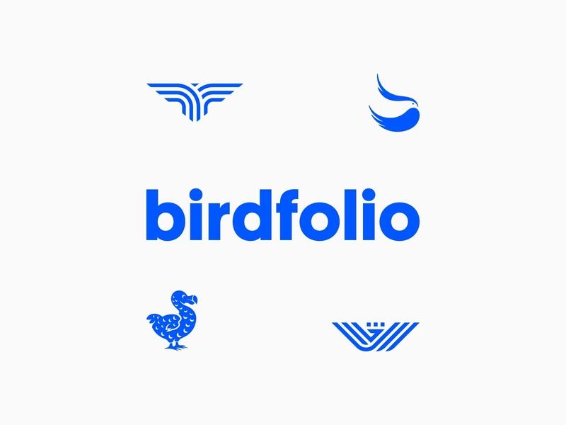Bird Logos Collection - Behance vector logomark design negative space bird animal icon symbol mark logo