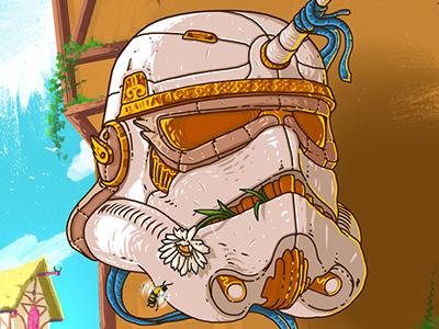 Imperial Stormtrooper helmet (KNIGHTLY)