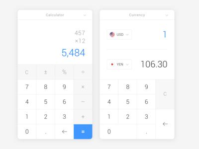 UI Design Challenge #004 — Calculator