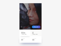 User Profile — Daily UI #006